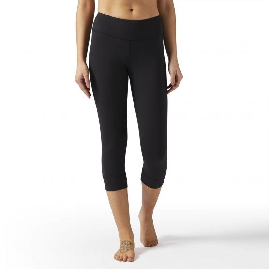 REEBOK LUX 3/4 TIGHT BLACK