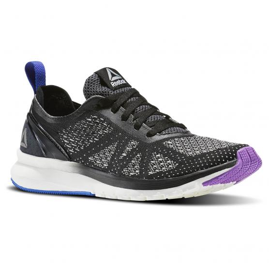 REEBOK PRINT SMOOTH CLIP U BLACK/CHALK/VIOLET/B