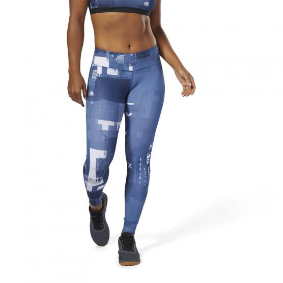 REEBOK RC LUC TIGHT DIGI BUNBLU