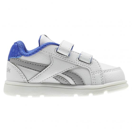 REEBOK ROYAL PRIME WHITE/STARK GRY/ACID