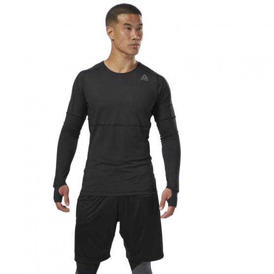 REEBOK THERMO WARM LS THERMO BLACK