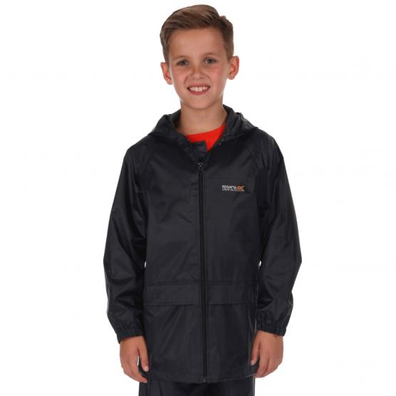 REGATTA KIDS STORMBREAK JACKET BLU SCURO