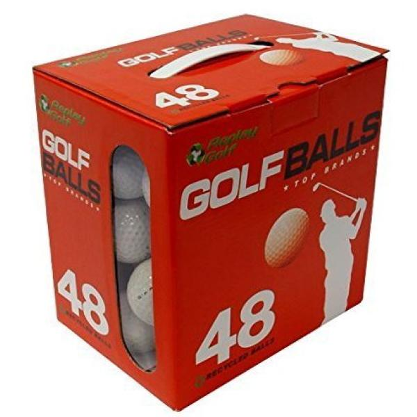 REPLAY GOLF Red Box 48 Refurbished Golf Balls