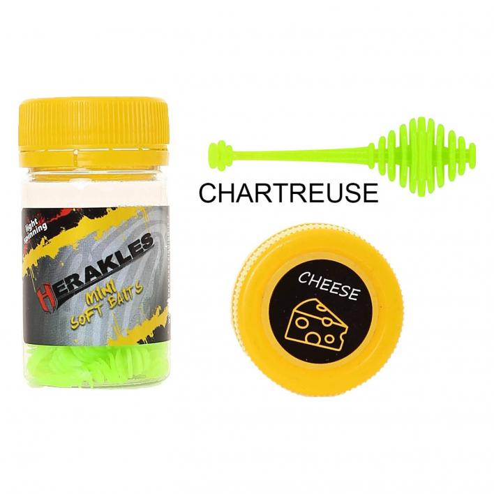 HERAKLES RINGO TAIL 50MM CHEESE COL. CHARTREUSE