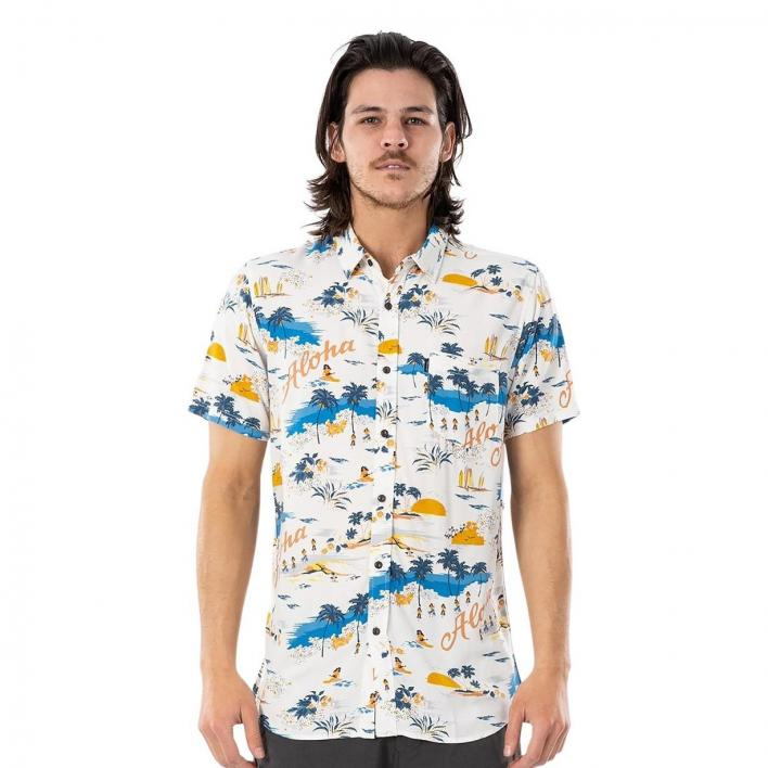 RIP CURL HAWAIIAN SHORT SLEEVE SHIRT