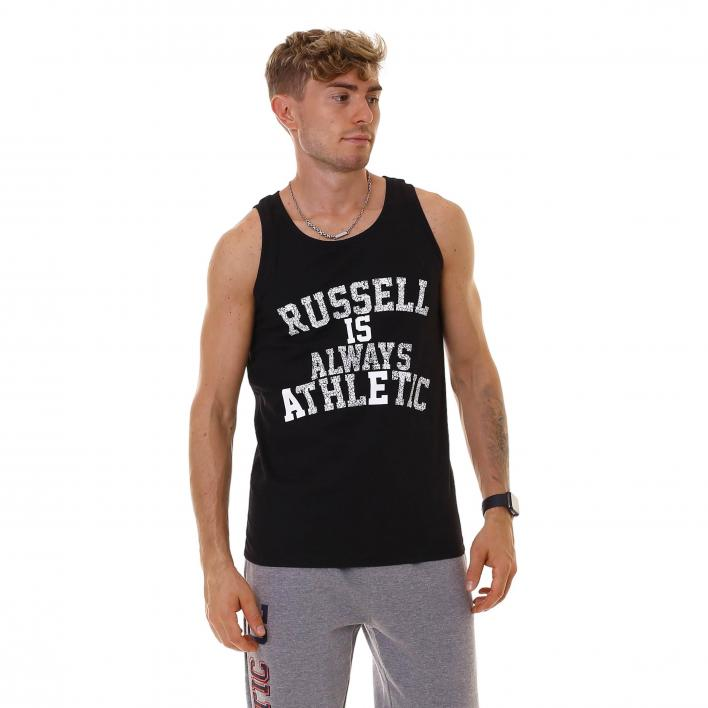 RUSSELL ATHELTIC RA MOTTO SINGLET