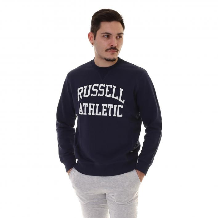 RUSSELL CREW NECK SWEAT - SMU