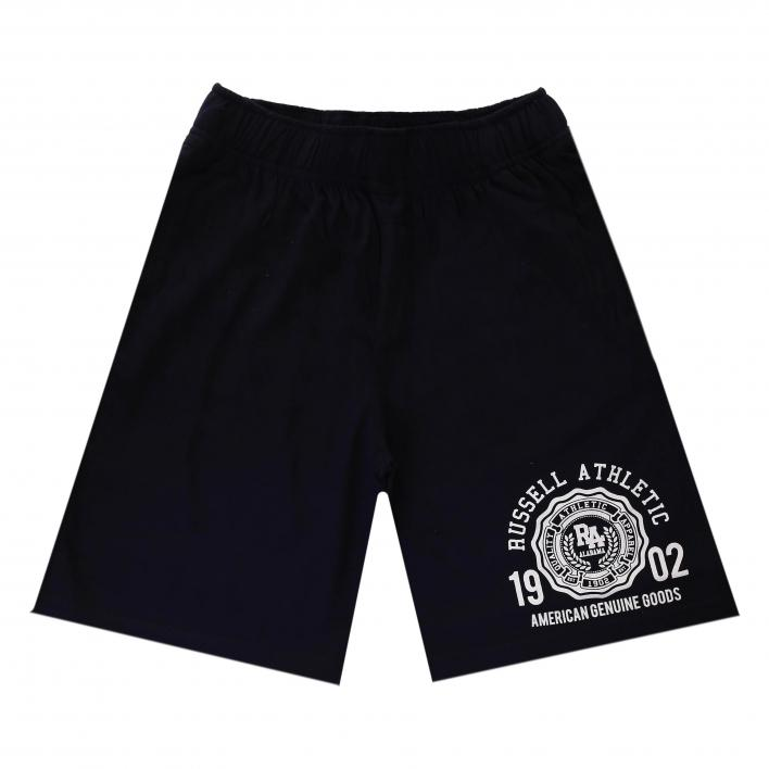 RUSSELL SHORTS WITH GRAPHIC PRINT