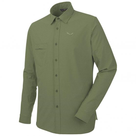 SALEWA PUEZ MINI CHECK DRY M L/S SHIRT