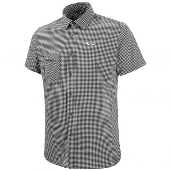 SALEWA PUEZ MINI CHECK DRY M S/S SHIRT