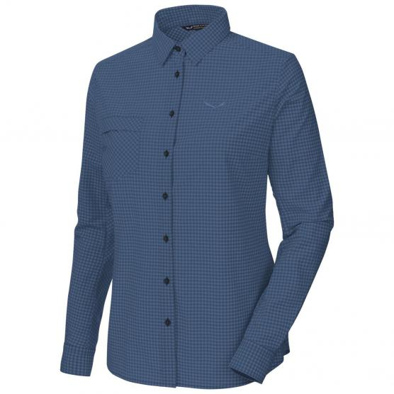 SALEWA PUEZ MINI CHECK DRY W L/S SHIRT