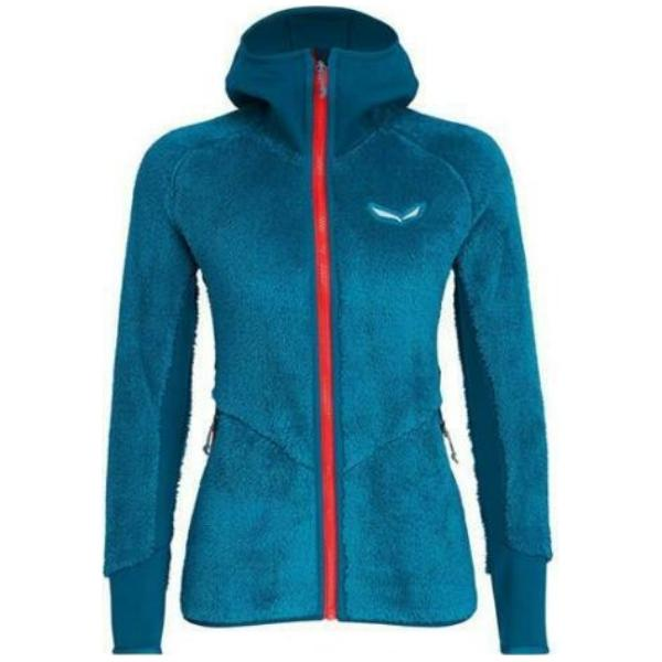 SALEWA PUEZ WARM PL FULL-ZIP HOODY WMS