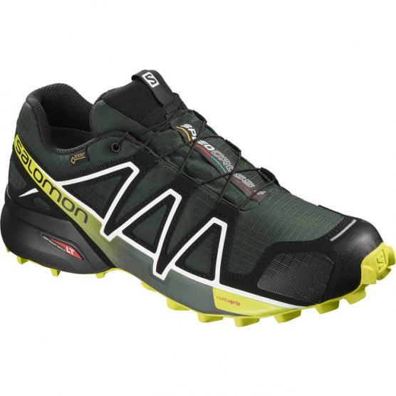 SALOMON M SPEEDCROSS 4 GTX DARKEST SP/BK/ACID LIME