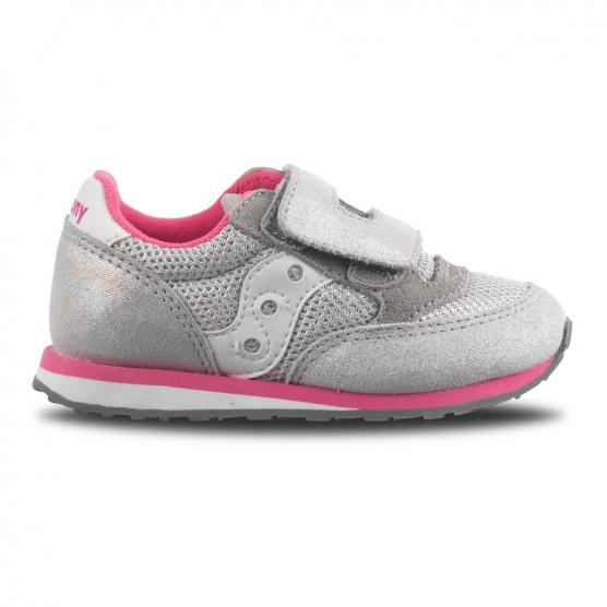 SAUCONY JAZZ HL BABY SILVER/PINK