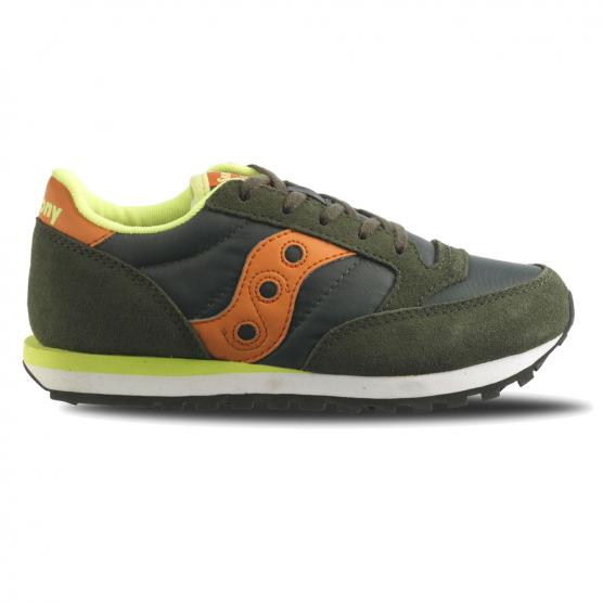 SAUCONY JAZZ ORIGINAL KID GREEN/ORANGE