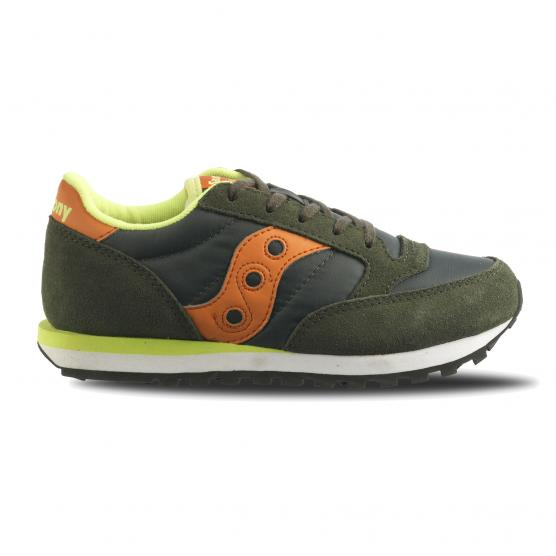 SAUCONY JAZZ ORIGINAL KID GS GREEN/ORANGE