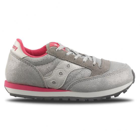 SAUCONY JAZZ ORIGINAL KID SILVER/PINK