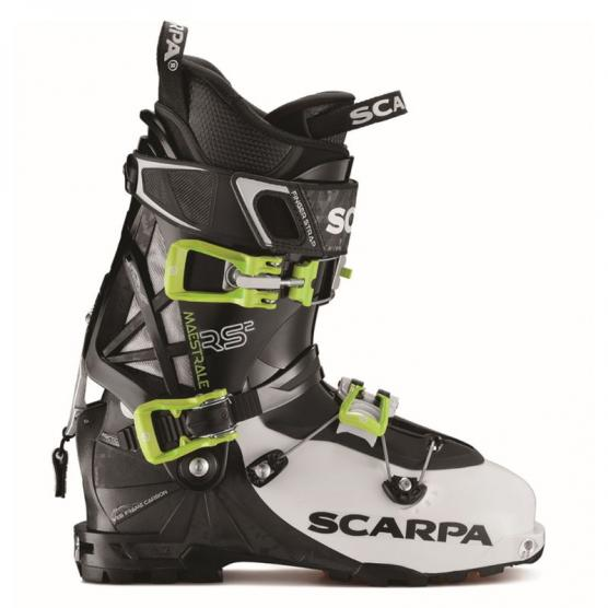 SCARPA MAESTRALE RS WHITE-BLACK LIME