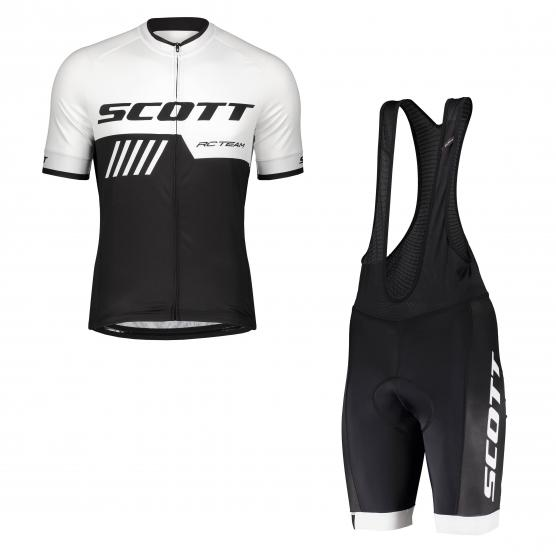 SCOTT RC Team 10 S/SL Shirt + RC Team Bibshort