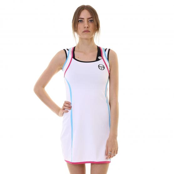 SERGIO TACCHINI TAPED DRESS