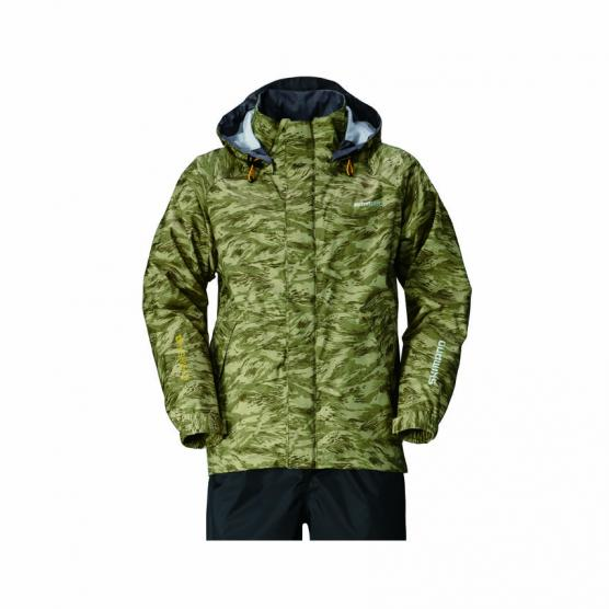 SHIMANO DS BASIC JACKET KHAKI PACIFIC CAMO TG. 3XL