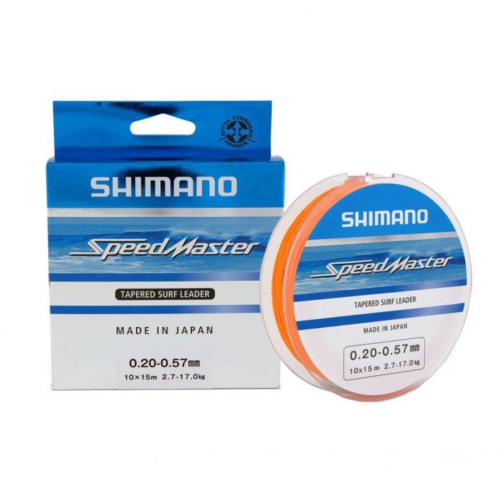 SHIMANO SPEEDMASTER TAPERED SURF LEADER 0,33-0,57 MM