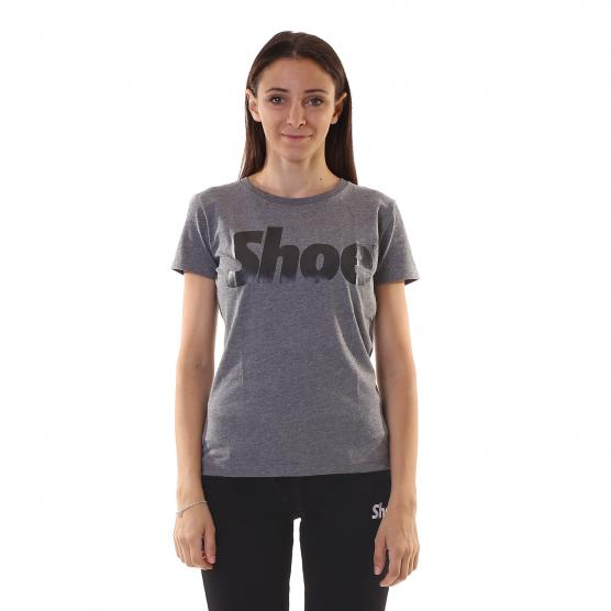 SHOESHINE T-SHIRT M/C ST. LAM. GLOSS DONNA DARK HEA