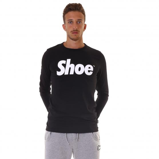 SHOESHINE T-SHIRT M/L BASIC UOMO BLACK
