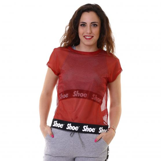 SHOESHINE TEE MESH RED