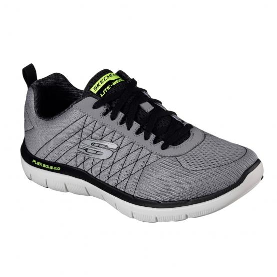 SKECHERS FLEX ADVANTAGE 2.0 LGBK