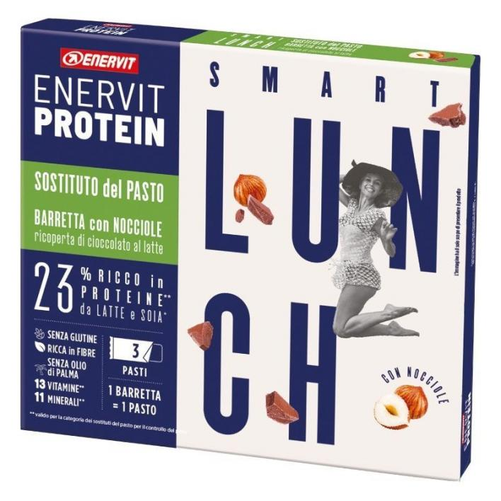 ENERVIT Lunch Bar Hazelnuts 3pcs