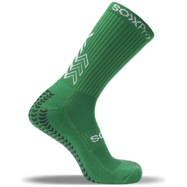 SOXPRO - CALZE GRIP IN E ANTI SLIP GREEN