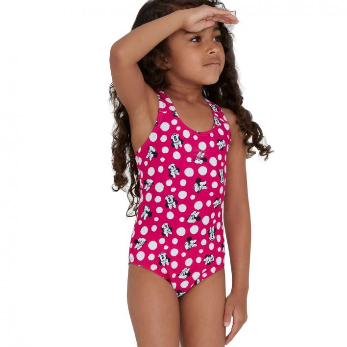 SPEEDO G MINNIE MOUSE DIGITAL ALLOVER SWIMSUIT