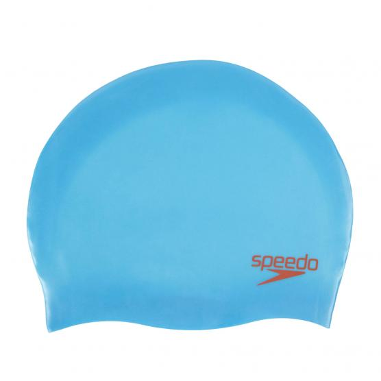 SPEEDO PLAIN MOLDED SILICONE CAP