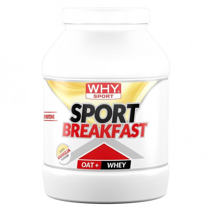 WHYSPORT SPORT BREAKFAST VANIGLIA750G