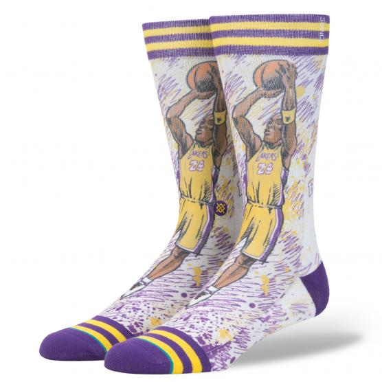 STANCE TF KOBE NBA LEGENDS PURPLE