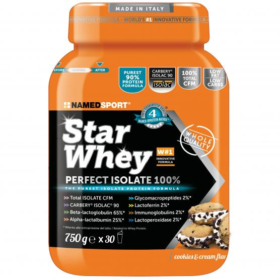 NAMEDSPORT Star Whey Isolate Cookies Cream 750g