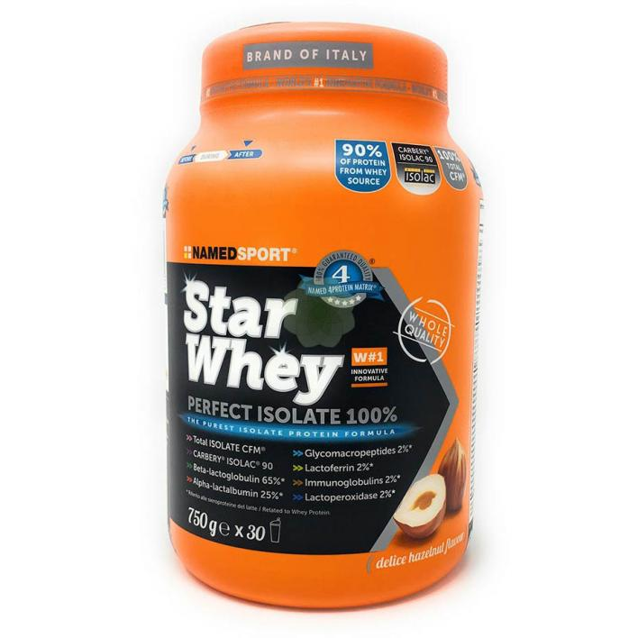 NAMEDSPORT Star Whey Isolate Haselnuss 750g