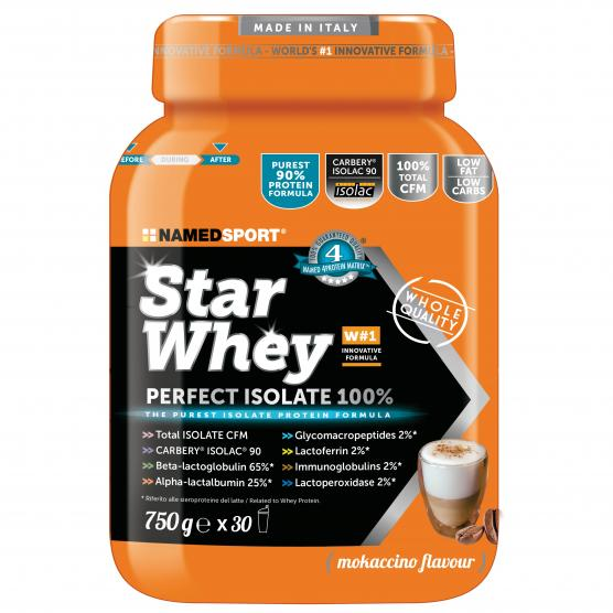 NAMEDSPORT Star Whey Isolate Mokaccino Cream 750g
