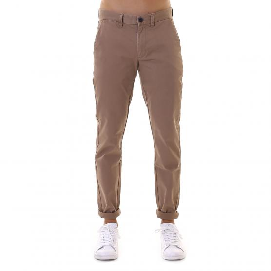 SUN68 CHINO BOTTOM FOLD 77 BEIGE SCURO