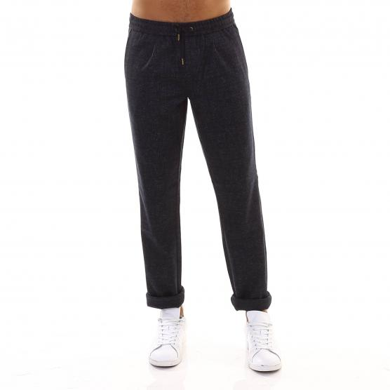 SUN68 WOOL PANT COULISSE 4755 GRIGIO SCURO