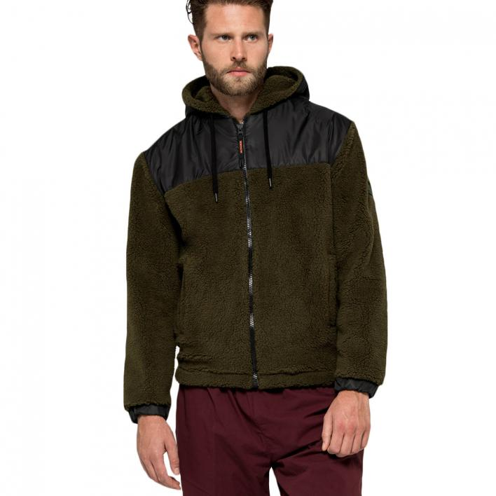 SUNDEK PEDER-ZIPPED HOODED FLEECE