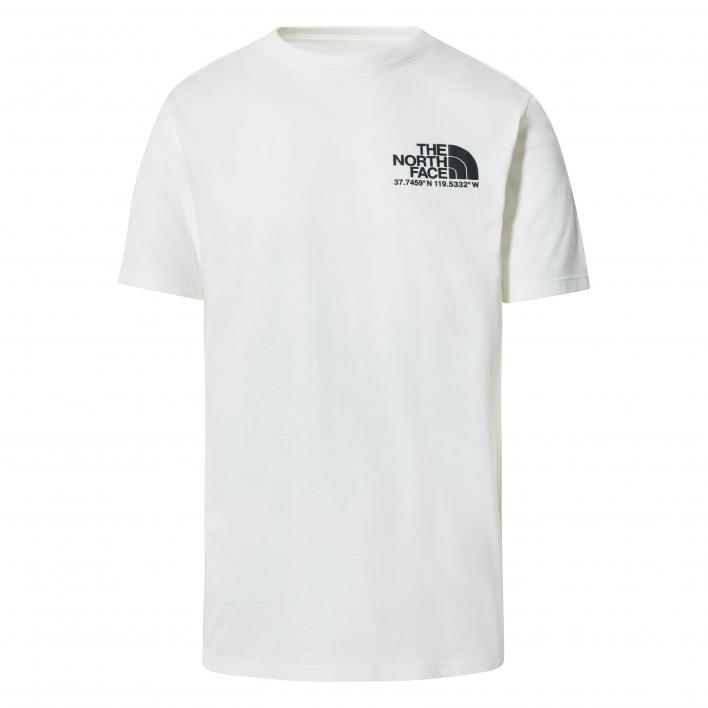 THE NORTH FACE M COORDINATES S/S TEE WHITE