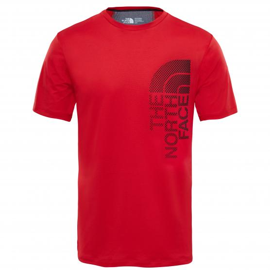 THE NORTH FACE M ONDRAS S/S TEE RED
