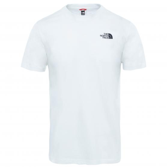 THE NORTH FACE M S/S CELEBRATION TEE WHITE