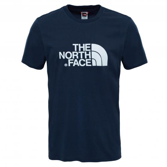 THE NORTH FACE  M S/S EASY TEE NAVY/TNF WH