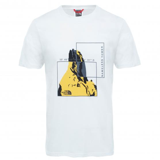 THE NORTH FACE  M S/S FLASH TEE WHITE