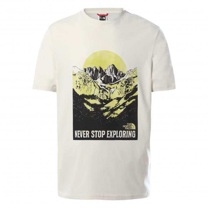 THE NORTH FACE M S/S NW TEE VINTAGE WHITE