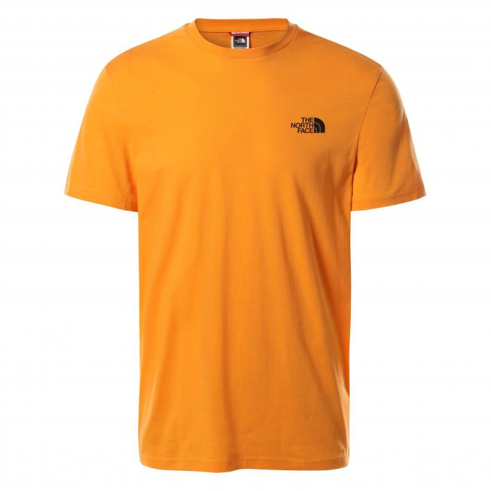 THE NORTH FACE M S/S SIMPLE DOME TE LTEXUBERANCEOR