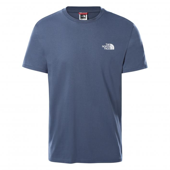 THE NORTH FACE M S/S SIMPLE DOME TE VINTAGE INDIGO